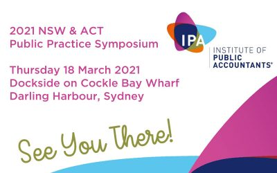 Ceezar At The 2021 NSW & ACT Public Practice Symposium
