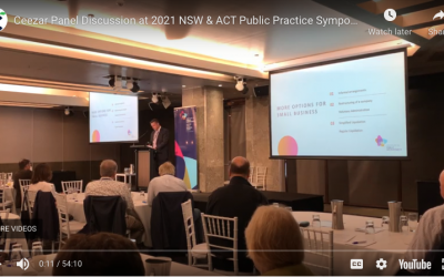 Ceezar Panel Discussion at 2021 NSW & ACT Public Practice Symposium